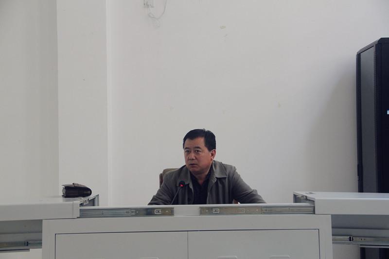 陕西省初中中学,榆林教育特级党委书记王中刚作讲座实验张店教师图片